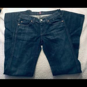 7 for all mankind skull jeans